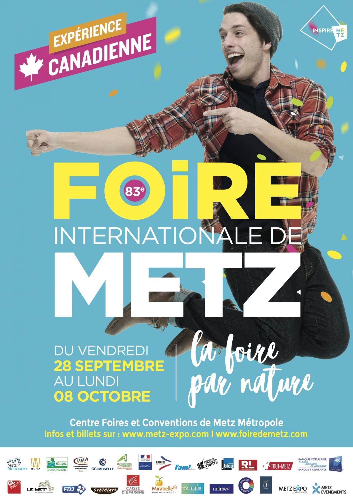 Affiche Foire de Metz 2018
